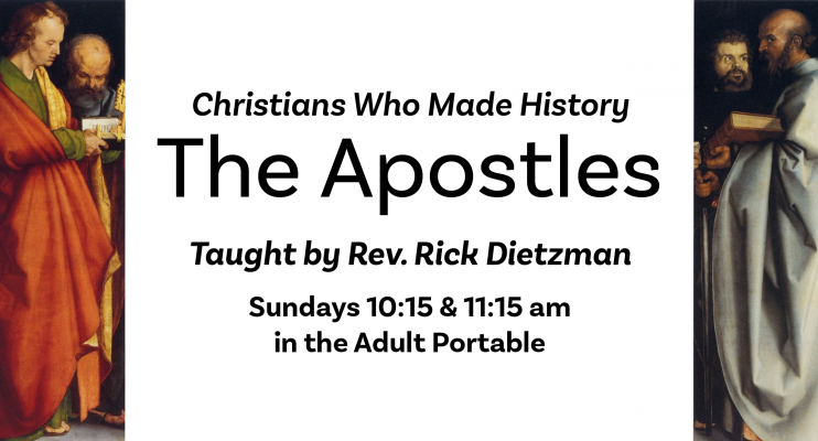 Adult Sunday Seminars- Apostles-web